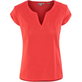 Royal Robbins Cool Mesh Eco t-shirt Dames rood